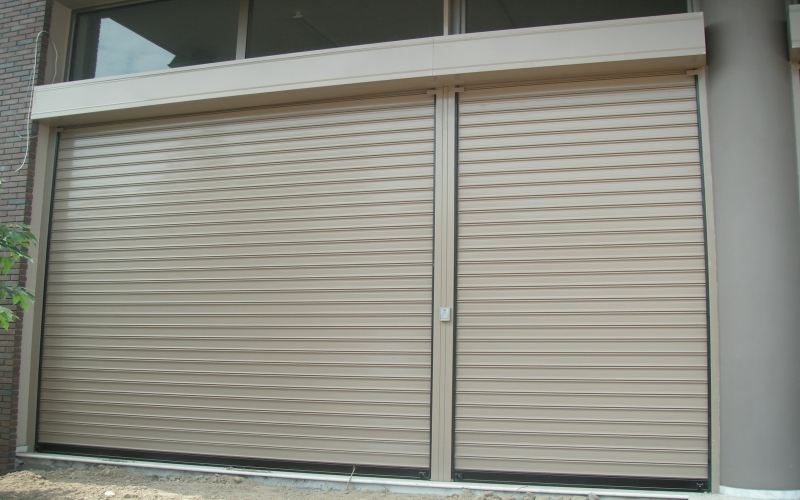 Rolling shutters home garages industrial shutters sheet metal rolling shutters love doors - The rolling shutter home in bohemia ...